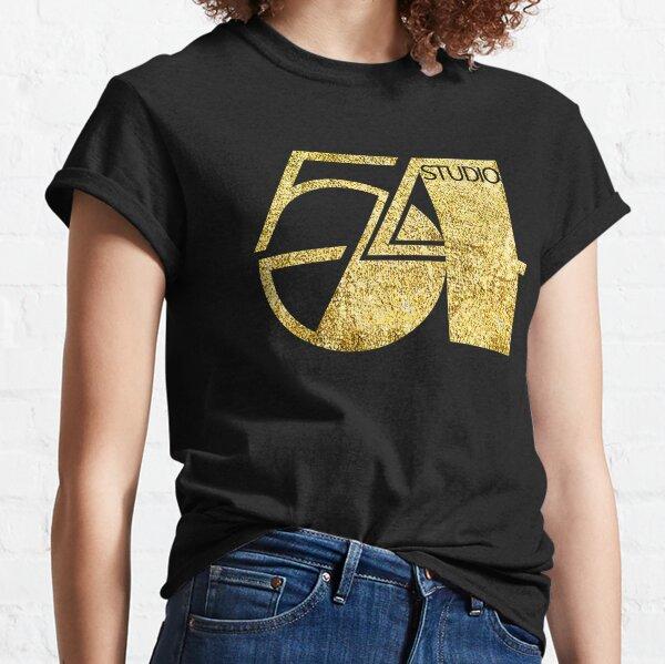 studio 54, gold disco, vintage glitter 54 Classic T-Shirt