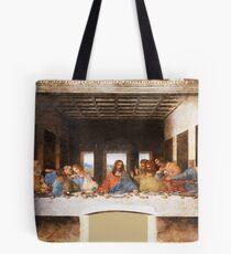 Das letzte Abendmahl von Leonardo Da Vinci Tote Bag