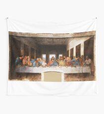 The Last Supper by Leonardo Da Vinci Wall Tapestry