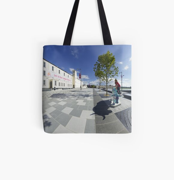 Let it be LegenDerry All Over Print Tote Bag