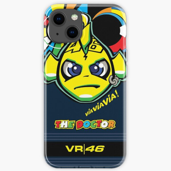 Valentino Rossi Fisch iPhone Flexible Hülle