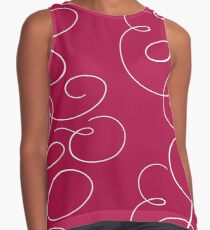 Love Cloud (Dark Pink) Contrast Tank