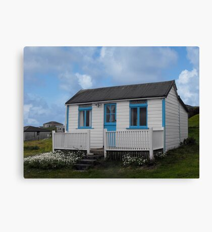 Holiday Chalet at Hayle Canvas Print
