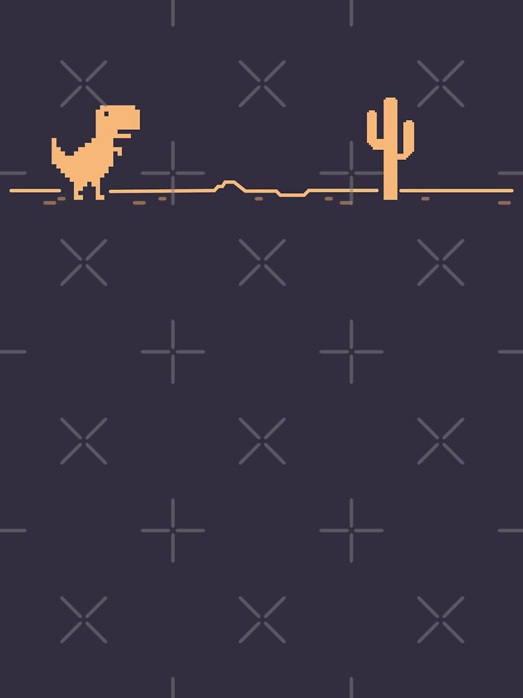 T-Rex Cactus Offline - Brown Chocolate Version by gengns