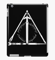 Geeky Hallows iPad Case/Skin
