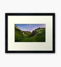 Winnats Pass Framed Print