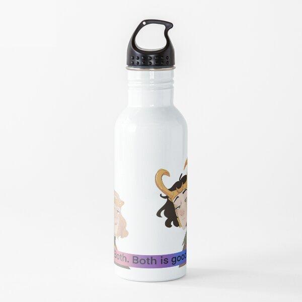 Bi pride Loki series poster Water Bottle