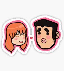 My love story!! Sticker