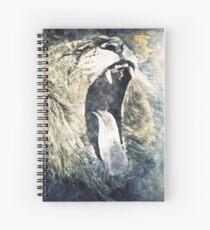 Cuaderno de espiral León que bosteza - la vida es un bostezo