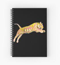 Fluorescent Tiger Spiral Notebook