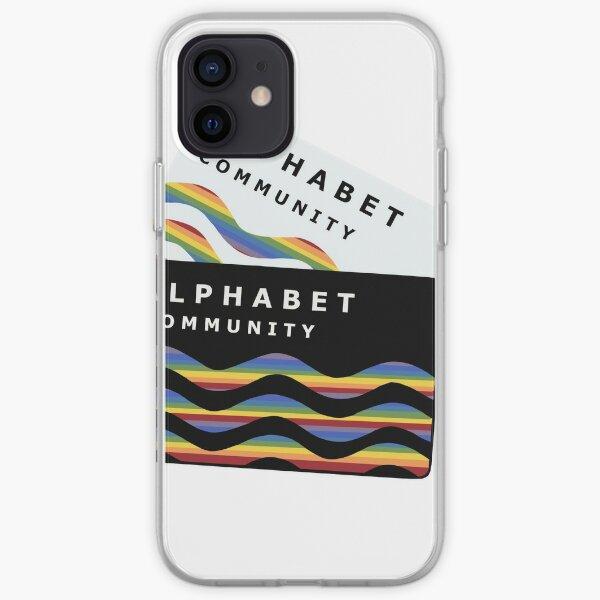 Comunidad Alphabet Funda blanda para iPhone