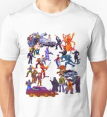 Badass 80's  Battle Unisex T-Shirt