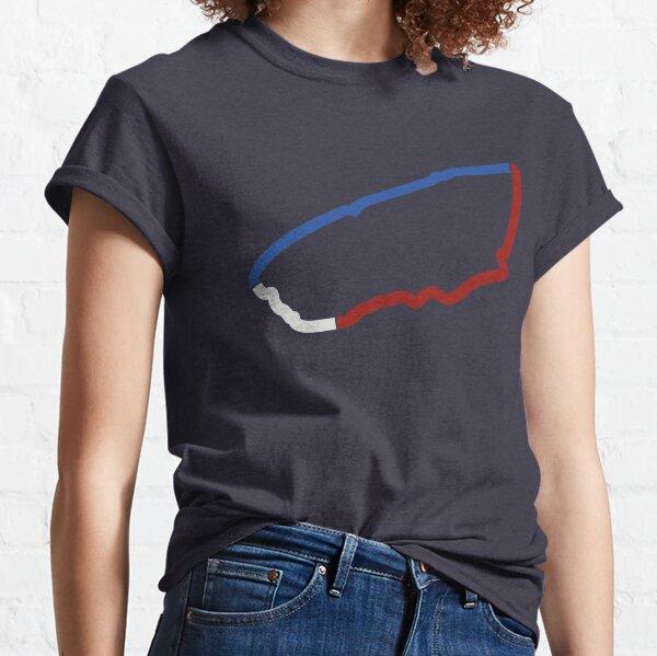 Secteurs de Tricolor T-shirt classique