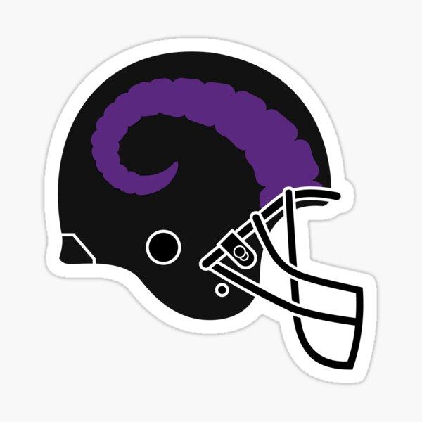 Rams Helmet Logo Sticker