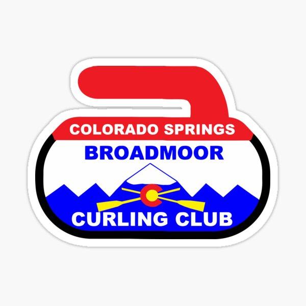 broadmoor curling Sticker