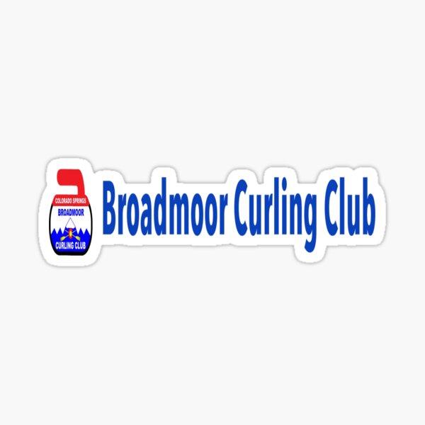 broadmoor curling club Sticker