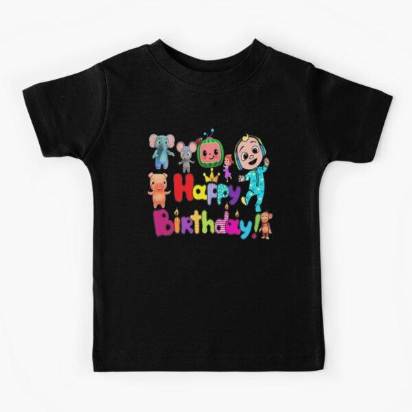 Cumpleaños de Cocomelon Camiseta para niños