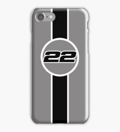 Button 22 iPhone Case/Skin