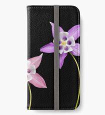 Aquilegia Flower iPhone Wallet/Case/Skin
