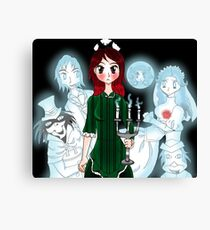 Grim Grinning Ghost Canvas Print