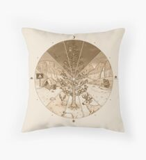 Timelapse Throw Pillow