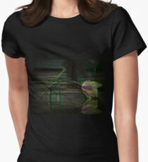 Tulip Immersed Womens Fitted T-Shirt