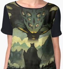 AMYGDALA THE NIGHTMARE FRONTIER Women's Chiffon Top