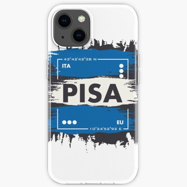 PISA iPhone Soft Case