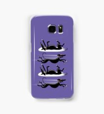 Zoomin' Snoozin' Galaxy (Purple) Samsung Galaxy Case/Skin
