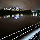 All along the Key Bridge by George Salazar