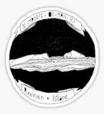 Le volcan Sticker