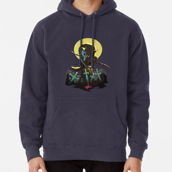 Sif the Great Grey Wolf Pullover Hoodie