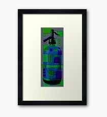 seltzer bottle study 1.1 Framed Print