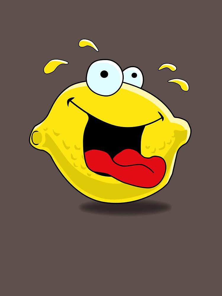 Cartoon Happy Lemon by mdkgraphics