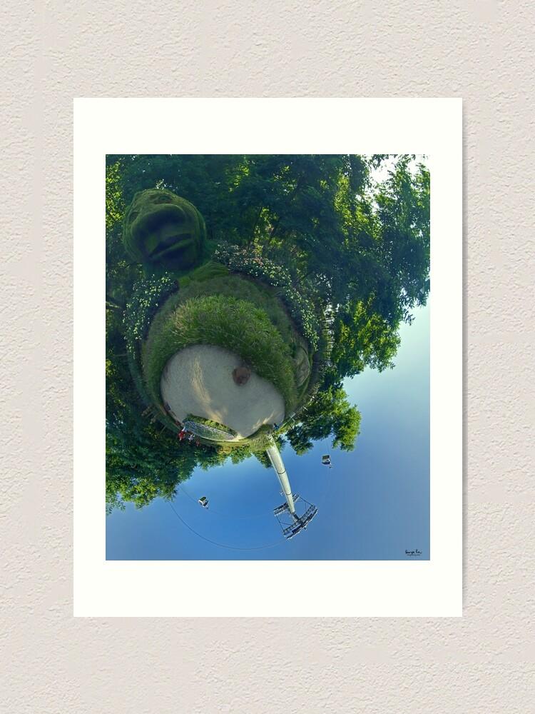 Alternate view of Earthy Head at Floriade 2012 Art Print