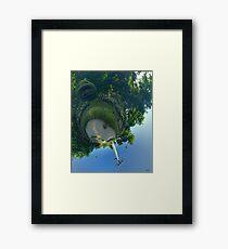 Earthy Head at Floriade 2012 Framed Print