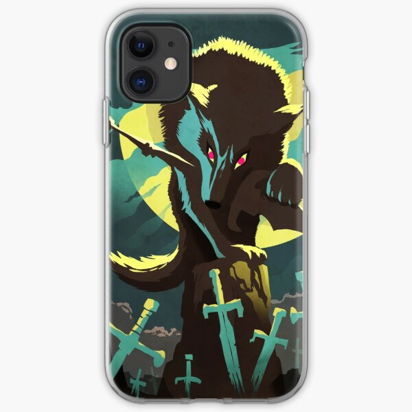 Sif the Great Grey Wolf iPhone Soft Case