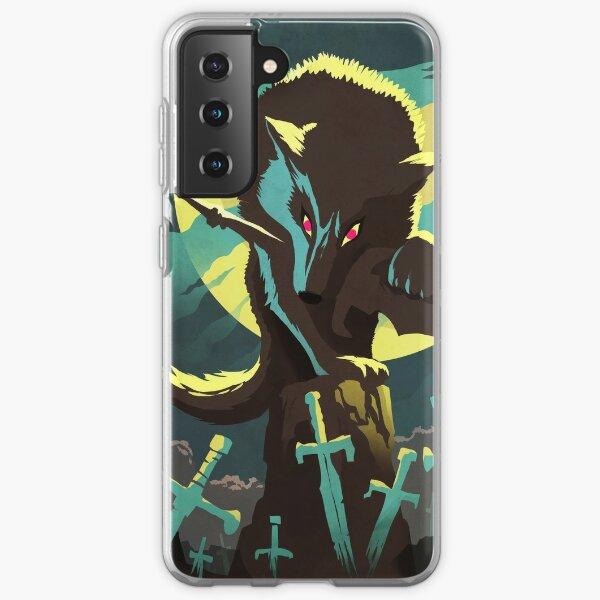 Sif the Great Grey Wolf Samsung Galaxy Soft Case