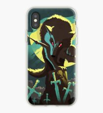 Sif the Great Grey Wolf iPhone Case
