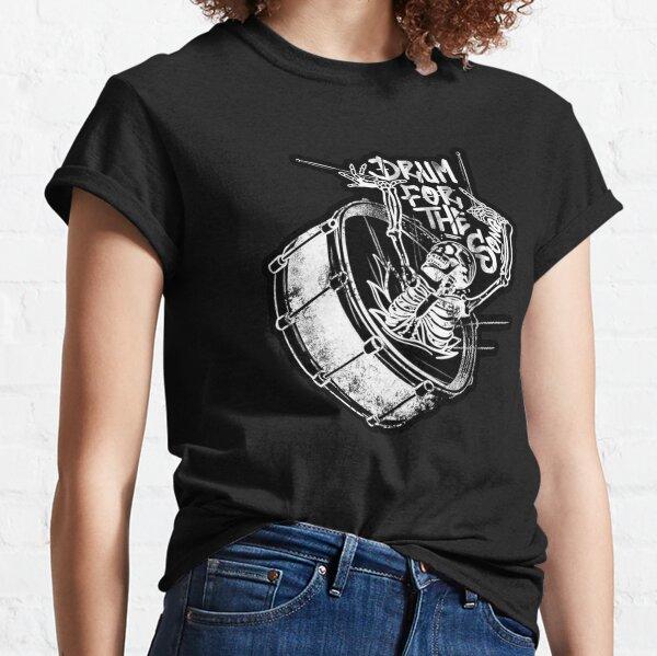 skull broken drum Classic T-Shirt