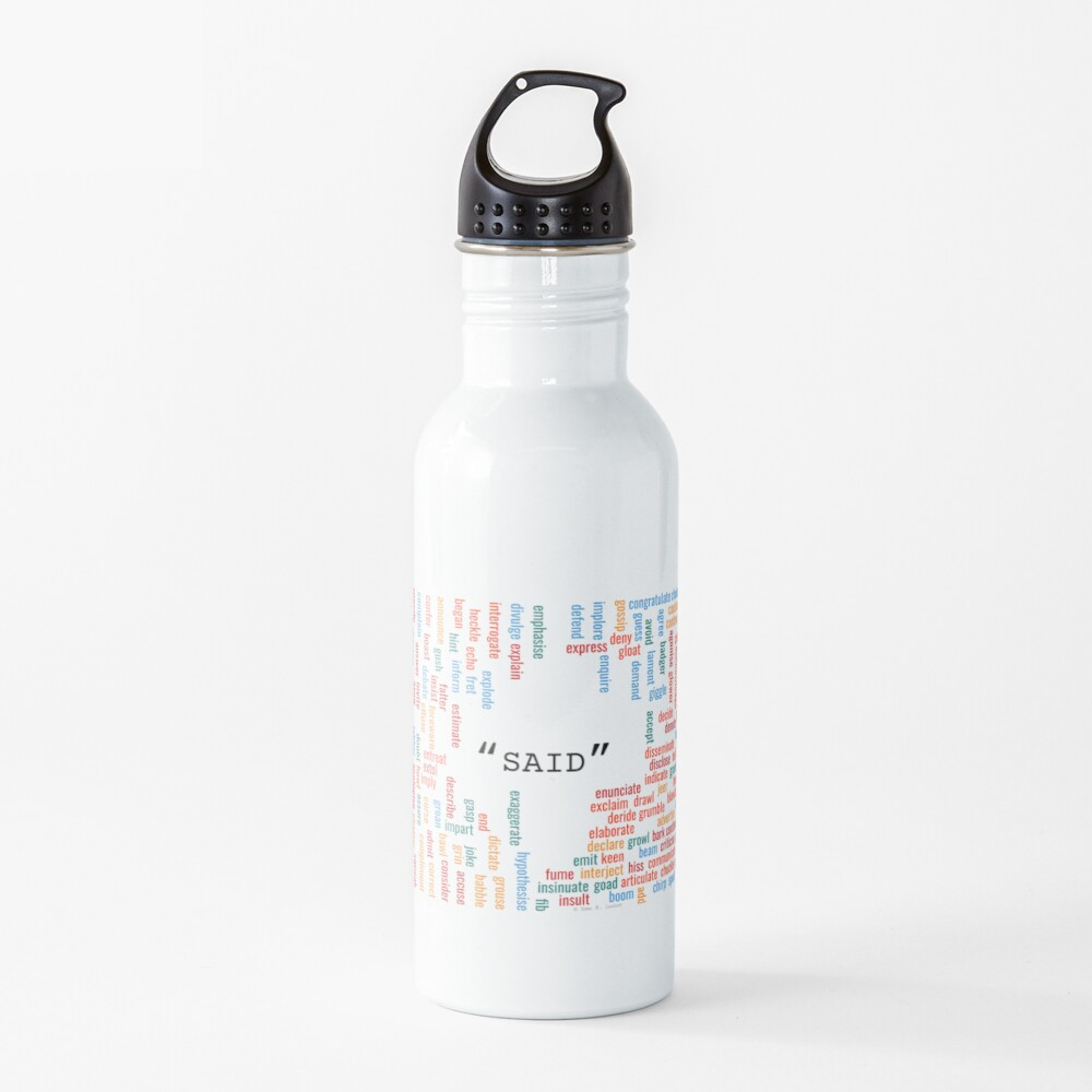 """300+ synonyms for """"said"""" Water Bottle"""