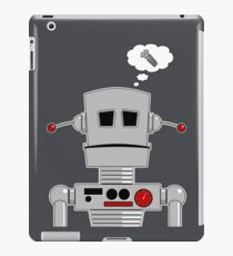 Robot Screw iPad Case/Skin