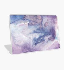 Purple Amethyst Laptop Skin