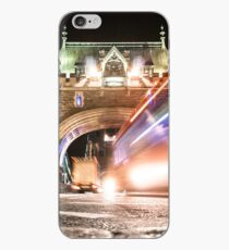 bus on tower bridge iPhone Case