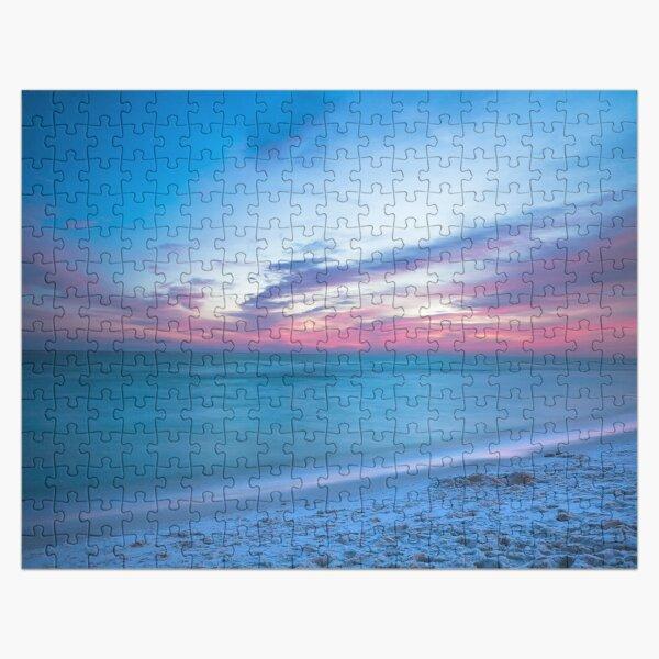 If By Sea - Sunset on the Beach Near Destin Florida Jigsaw Puzzle