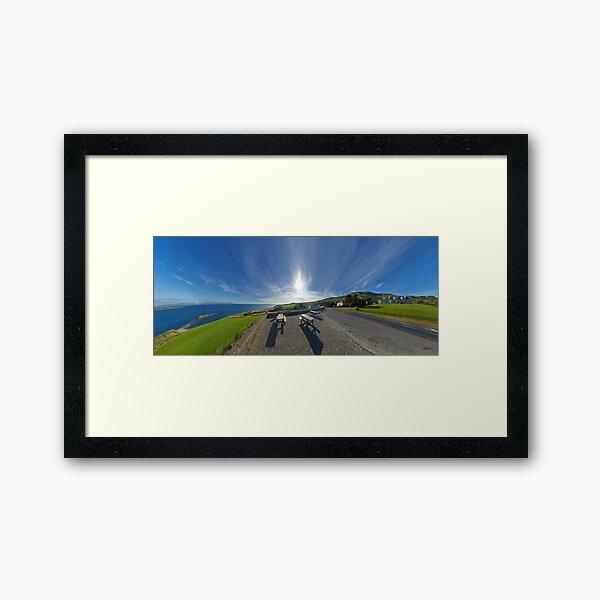 Donegal Bay - Panorama Framed Art Print