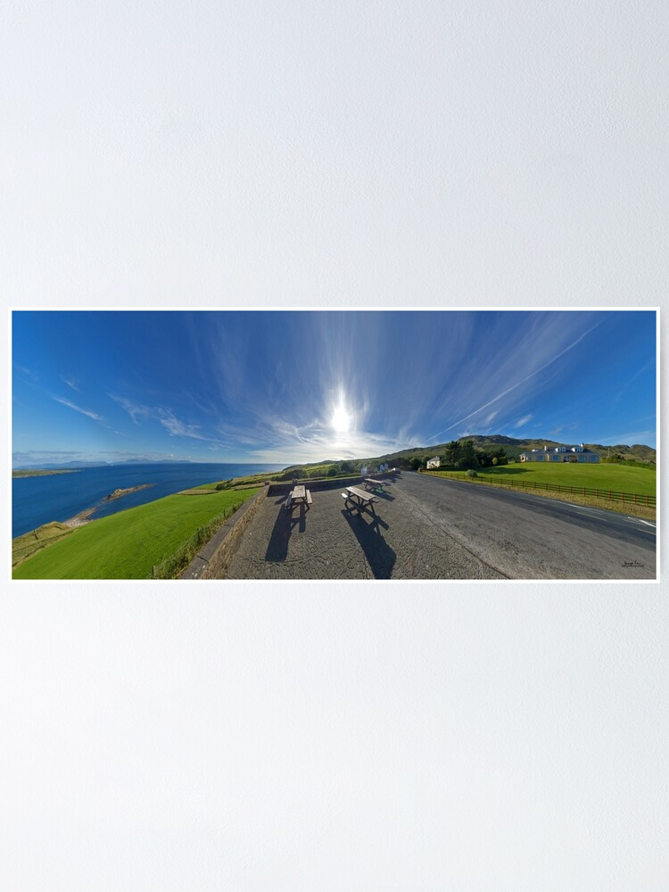 Alternate view of Donegal Bay - Panorama Poster