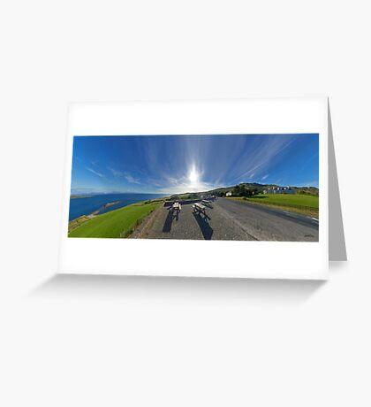Donegal Bay - Panorama Greeting Card