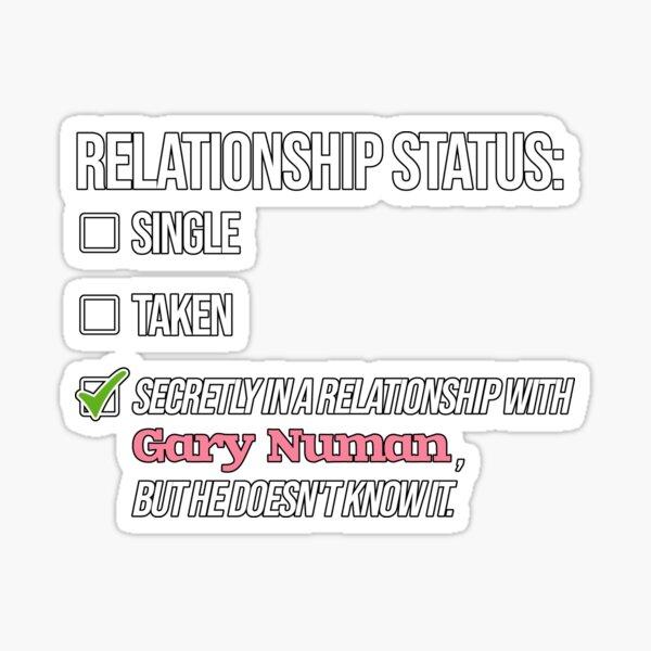 Relationship with Gary Numan Sticker