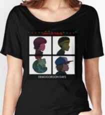 Stranger Things - Gorillaz Album Cover Style Women's Relaxed Fit T-Shirt